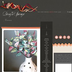 Design*Sponge » Blog Archive » diy project: jane joss' recycled quilt flowers
