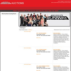 Project Runway Auction | Challenge 7