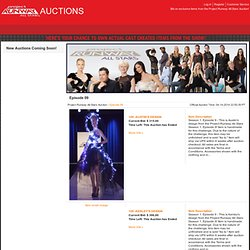 Project Runway All Stars Auction