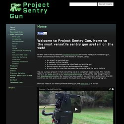 Project Sentry Gun