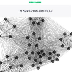 The Nature of Code Book Project by Daniel Shiffman