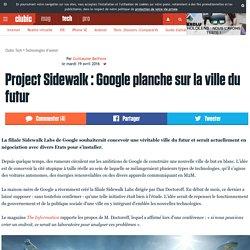 Project Sidewalk : Google planche sur la ville du futur