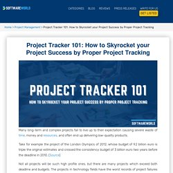 Project Tracker 101: How to Skyrocket your Project Success by Proper Project Tracking