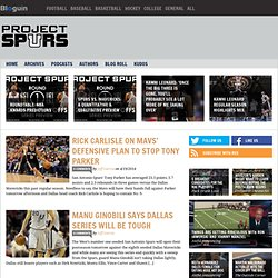 Project Spurs - A San Antonio Spurs Blog and Podcast