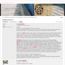 View topic - stopping Zyprexa