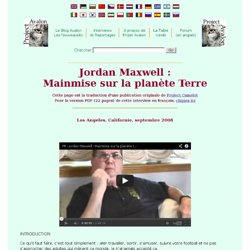 Jordan Maxwell: The Takeover of Planet Earth transcript