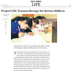 Project Lift: Trauma therapy for Syrian children