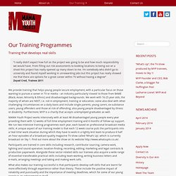 Our Training Programmes