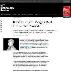 Kinect Project Merges Real and Virtual Worlds