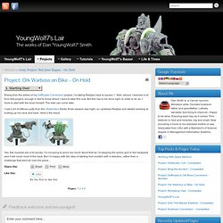 Project: Ork Warboss on Bike – On Hold » YoungWolf7's Lair