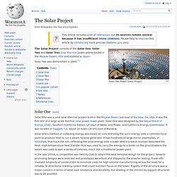 The Solar Project