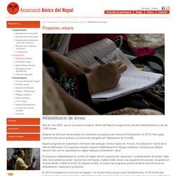Amics del Nepal - Projectes urbans » Alfabetització de dones