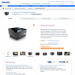 Philips Screeneo - Projecteur LED intelligent