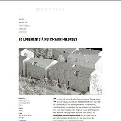 projectiles - projets — 90 logements à Nuits-Saint-Georges