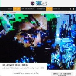 Les artéfacts vidéos - 3 et fin - Projection et Homecinéma