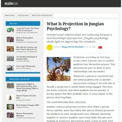 What Is Projection in Jungian Psychology?