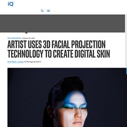 3D Facial Projection Technology Creates Digital Skin