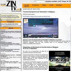 """Tournée de projections de """"Catastroïka"""" en Belgique"""