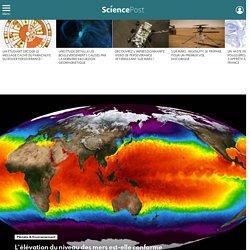 L'élévation du niveau des mers est-elle conforme aux projections climatiques ?