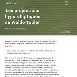 Les projections hyperelliptiques de Waldo Tobler