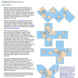 Map Projections: Polyhedral Maps - part 2