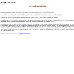 Projecto Colibri: