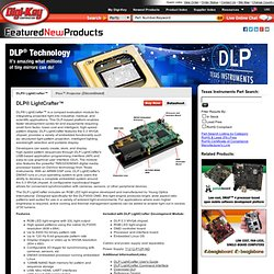DLP Pico Projector Kit from Texas Instruments