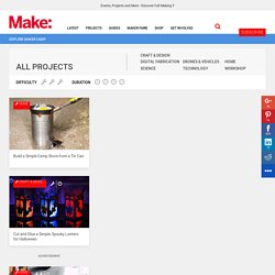 Make: Projects How-to Projects Library — Electronics, Arduino, Crafts, Solar, Robots