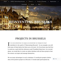 Reinventing Brussels