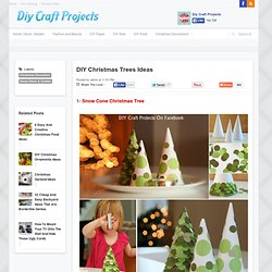 DIY Christmas Trees Ideas