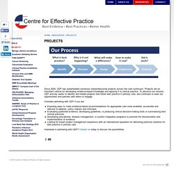 Centre for Effective Practice