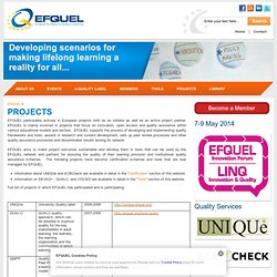 PROJECTS | EFQUEL