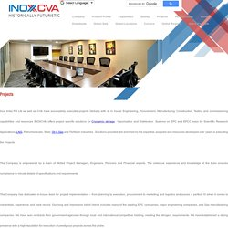 Projects Executed By INOX India Pvt. Ltd.