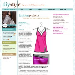 Fashion Sewing Projects