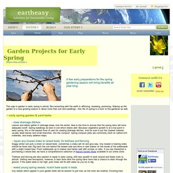 Garden Projects for Early Spring: Start Gardening Early & Grow More