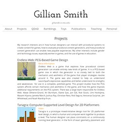 Projects – Gillian Smith