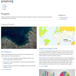 Projects – Google.org