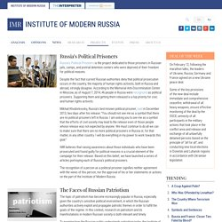 Projects - Institute of Modern Russia