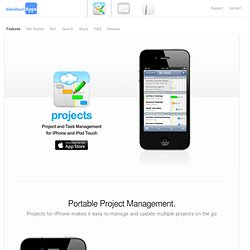 Projects for iPhone