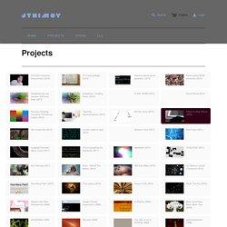 Projects – jtnimoy