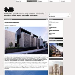Projects - Louisa Road Apartments