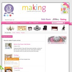 Projects - Making Magazine - Crafts Institute