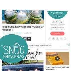 DIY Mason Jar Repellant
