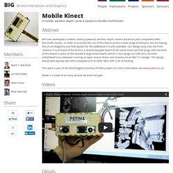 Mobile Kinect