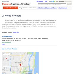 Jl Home Projects, 257 East Palmetto Park Rd, Boca Raton FL 33432, , Boca Raton, Florida, 33432, United States