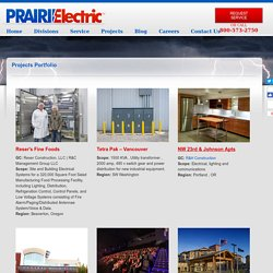 Projects - Prairie Electric