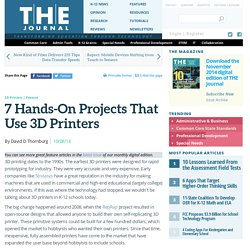 7 Hands-On Projects That Use 3D Printers