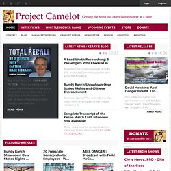 BLACK PROJECTS : FOLLOW THE MONEY - Project Camelot