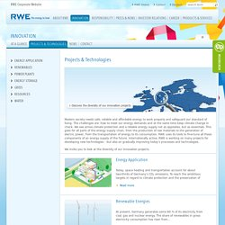 Projects & Technologies