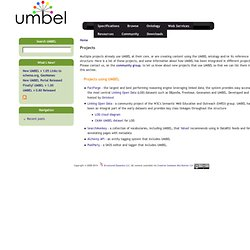 Projects | UMBEL